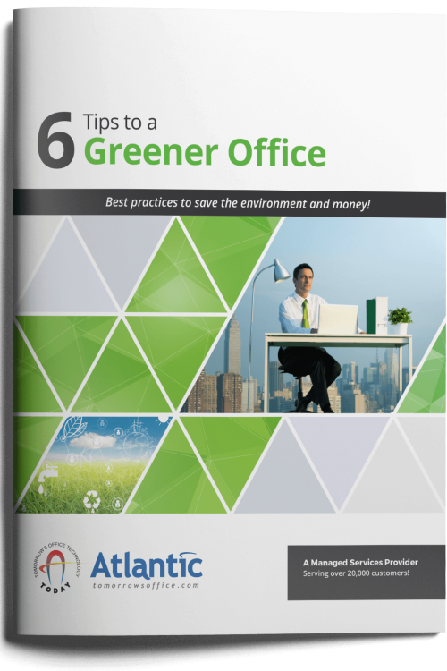 6 Tips to a Greener Office