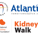 Atlantic logo and National Kidney Foundation Logo