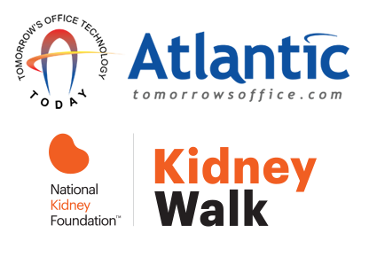 Atlantic logo and National Kidney Foundation Logo