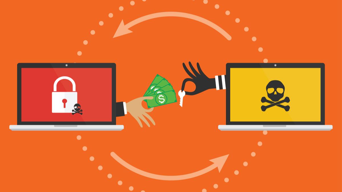 Ransomware exchange between two laptops