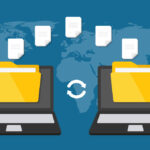 Digital file sharing between two laptops